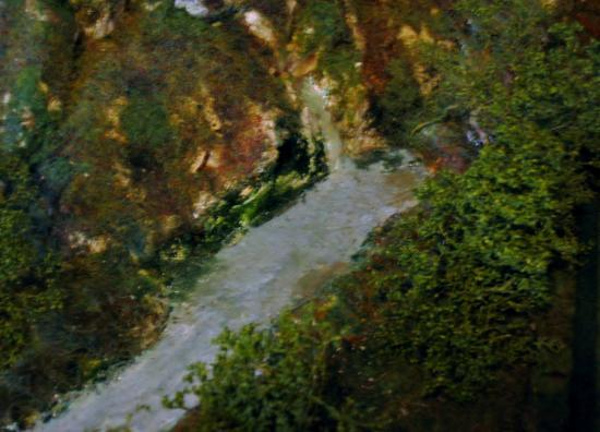 L'émergence de la petite rivière