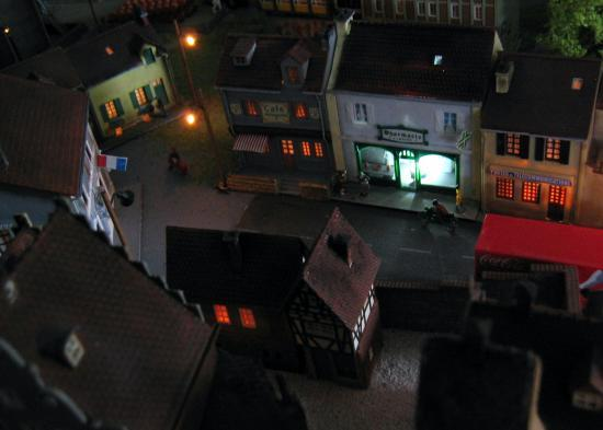 Le vieux quartier de nuit