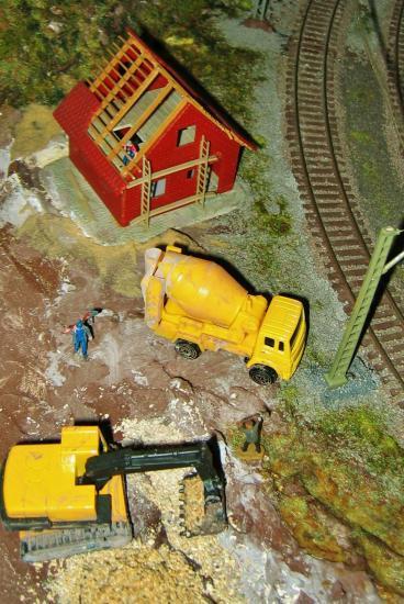 Travaux de terrassement et de construction