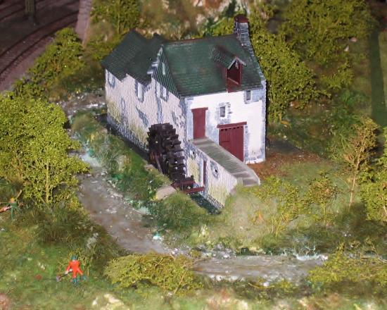 Un pittoresque moulin à eau
