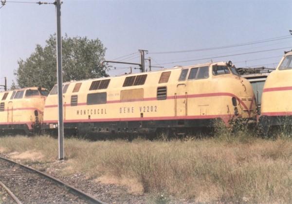 V200 30 juillet 1990 avignon depot